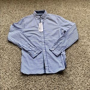 Brand New Tahari Striped Button Down Size Small
